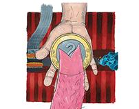 SUPER KIAULĖ | Illustration book