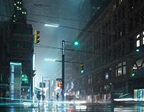 Movieset NY, setdesign, CGI