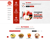 Chowking Corporate Website - Design Proposal