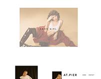 AT.PIER - Web design