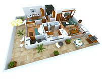 Condominio Villa Victor - Modern floor plans