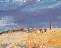 Storm Over Stoodley Pike (SOLD)