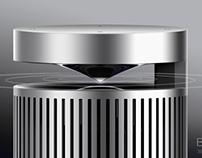 2016.09.10  4 hours Bluetooth speaker Research + design