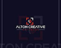 ALTON CREATIVE | Logo Design | AM-98 Designers