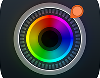 Unnamed camera app for BlackBerry 10
