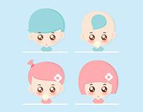 APP卡通形象和头像设计