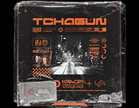 Tchagun - Kráčim (single cover)