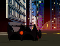 Batman Live drive sequence