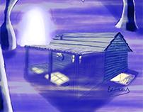 Underground Cabin Concept