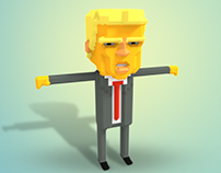 2016 ELECTION IN VOXEL ART