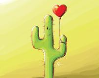Cactus amoureux