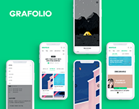GRAFOLIO 'Collaboration' UX/UI Redesign