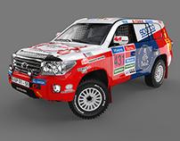 Toyota Land Cruiser VDJ200 Dakar Rally 2015