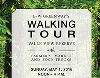B-W Greenway promotion, Facebook ad & digital invite