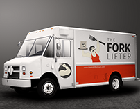 The Forklifter Food Truck Logo