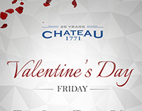 Valentine's Day at Chateau 1771