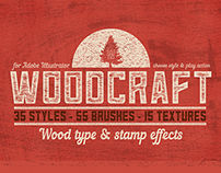 Woodcraft for Adobe Illustrator