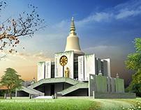 BUDDHIST MONASTRY AT SHILGHATA BANDARBAN