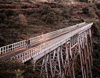 MURANG'A_MARAGUA LUNATIC RAILWAY BRIDGE PORTRAITS IMAGE