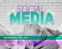 Social Media | AQUAMARINE E PLAZA PIZZA E GRILL
