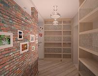 Интерьер трехкомнатной квартиры в Митино.