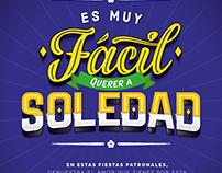 Lettering - Alcaldía de Soledad