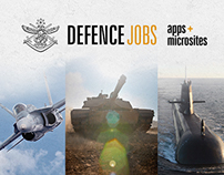 Defence Jobs Apps & Microsites