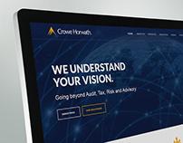 Crowe Horwath - Website Design