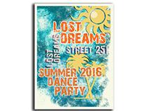 Lost Dreams Graphic Design-Typography