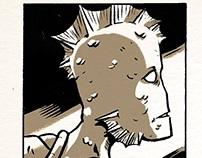Mutant Dream. Comic Strip.