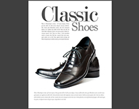 Free Magazine Ad For Shoes PSD Template