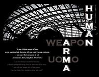 HUMAN WEAPON - ARMA UOMO
