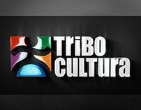 TRIBO CULTURA Revitalização de logo em 3D
