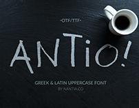 ANTIO Greek Font + Prokopis Font Bonus