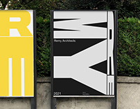 Remy Architects | Visual Identity