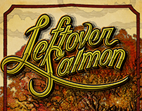 Leftover Salmon — Fall 2017 Tour Art