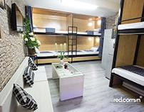 Chụp ảnh không gian Hostel _Ms Phượng