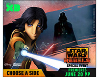 Disney XD Star Wars Rebels Banners