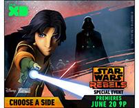 Disney XD Star Wars Rebels Banners