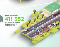 Infographie 3D isométrique
