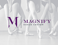 Magnify Dance Center Branding