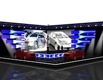 Stage Design For Toyota