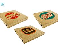 Mundo Pizza Branding