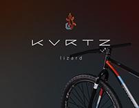 KURTZ lizard, custom MTB paintjob