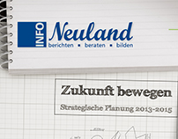 INFO Neuland Cover Design