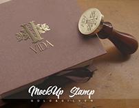 Mockup Stamp VGS PSD DMR studios