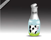 Mighty Milk bottle