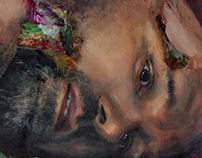 Selbstporträt aus Farbe II