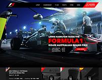Formula1 Site Concept Redesign