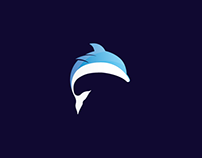 Dolphin - Logo Animal